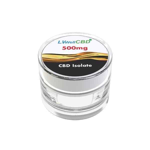 LVWell CBD 99%  Isolate 500mg CBD THC<0.2%