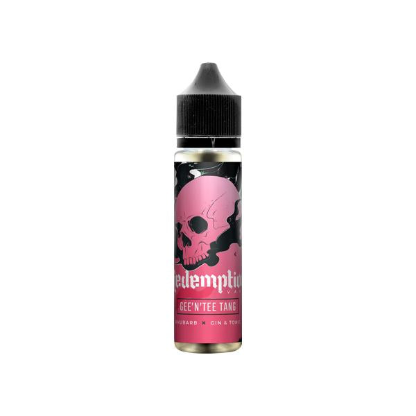 Redemption Vape Shortfill 0mg 50ml (70VG/30PG) THC<0.2%