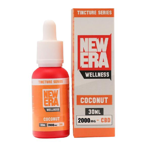 New Era Wellness 2000mg CBD Tincture Series 30ml THC<0.2%