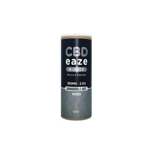 CBD Eaze 250MG CBD 10ml E-Liquid THC<0.2%
