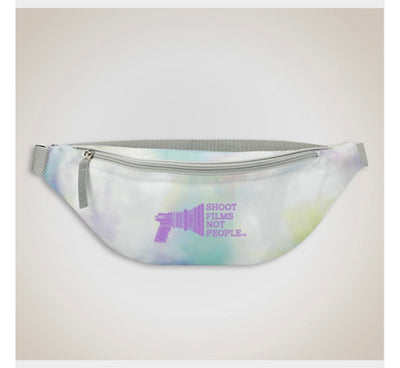 Tie-dyed Fanny Packs - Affordable unisex cotton hoodies and tees | Shoot Films Not People