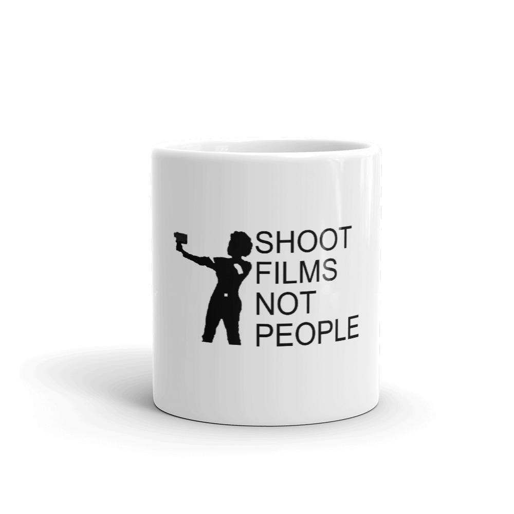Vintage Logo Coffee Mug - Affordable unisex cotton hoodies and tees | Shoot Films Not People
