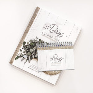 21 Days of Prayer for your Business Book + Scripture Flip Book Bundle
