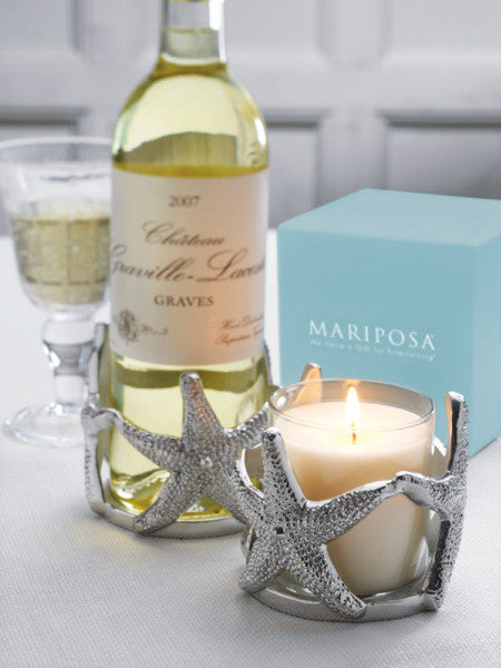 Starfish Wine/Candle Cozy