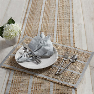 Table Runner ZAR Grey