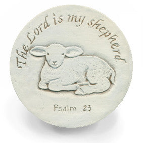 "Moisture Absorbent Coasters - ""The Lord is My Shepard"""