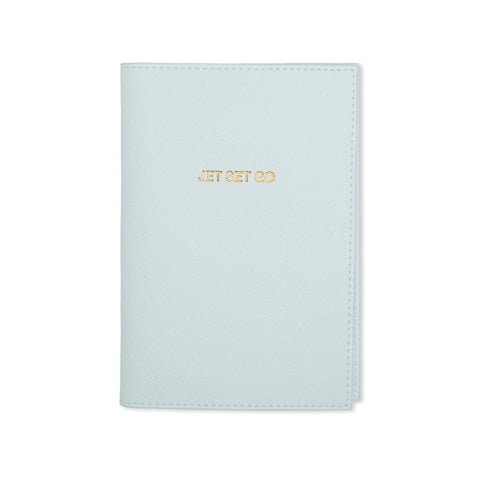 """Jet Set Go"" Passport Holder"