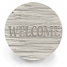 Moisture Absorbent Coasters - Welcome