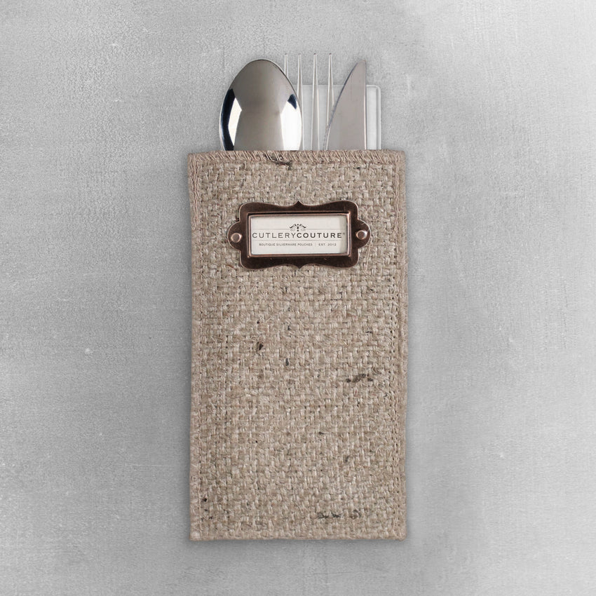 Silverware Pouch Place Card Set of 8