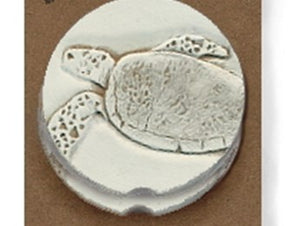 Moisture Absorbent Car Coasters - Sea Turtle
