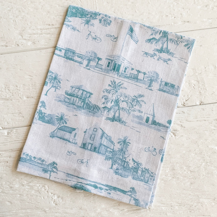 30A Toile Hand Towel