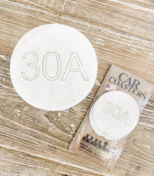 Moisture Absorbent Coasters - 30A