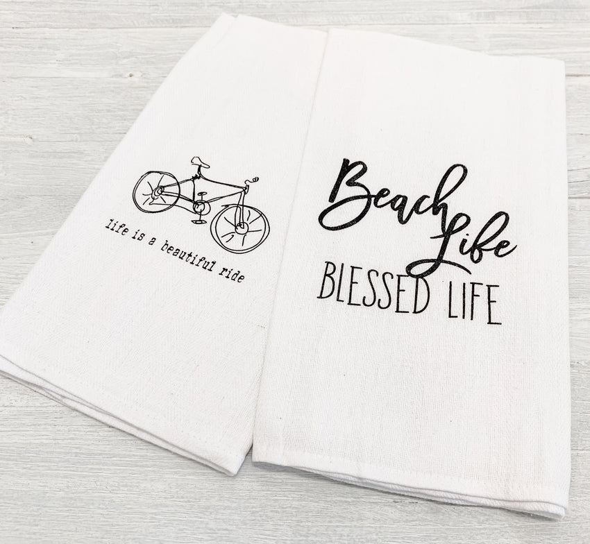 Hand Towel 2-Pack Beach & Bike