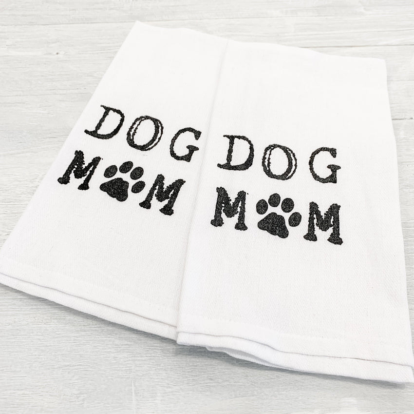 Hand Towel 2-Pack Dog Mom