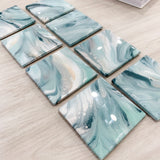 Original Square Art Tiles - Set of Two