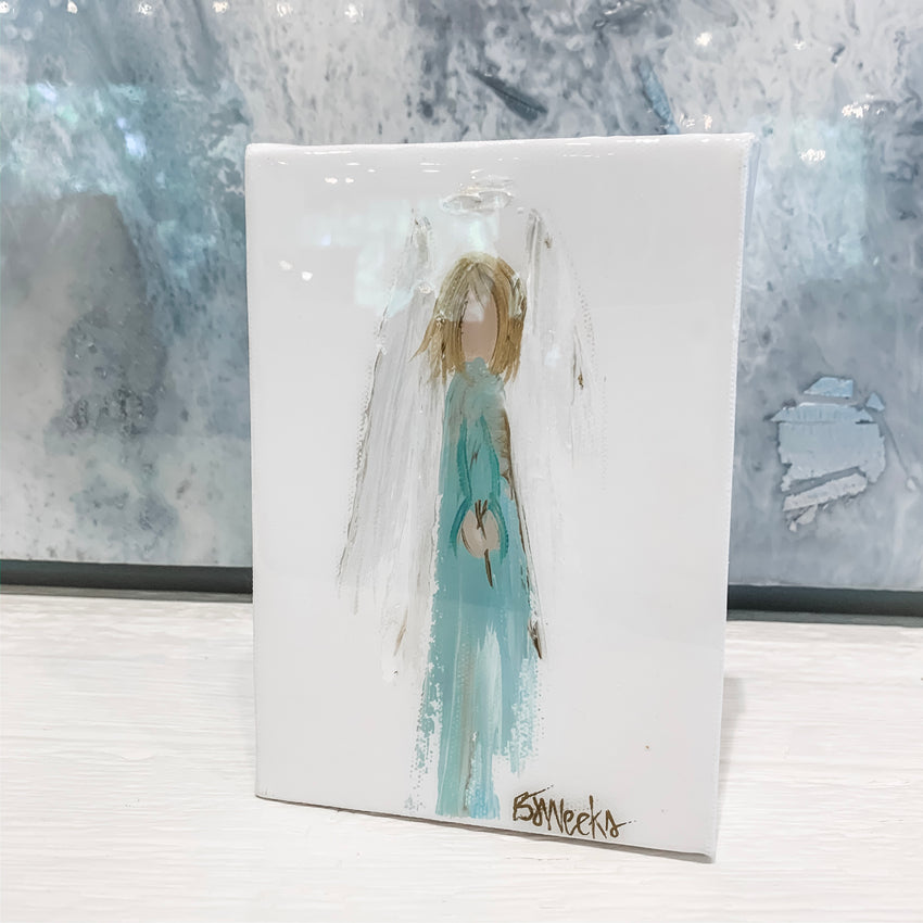 Angel Original Art 5x7