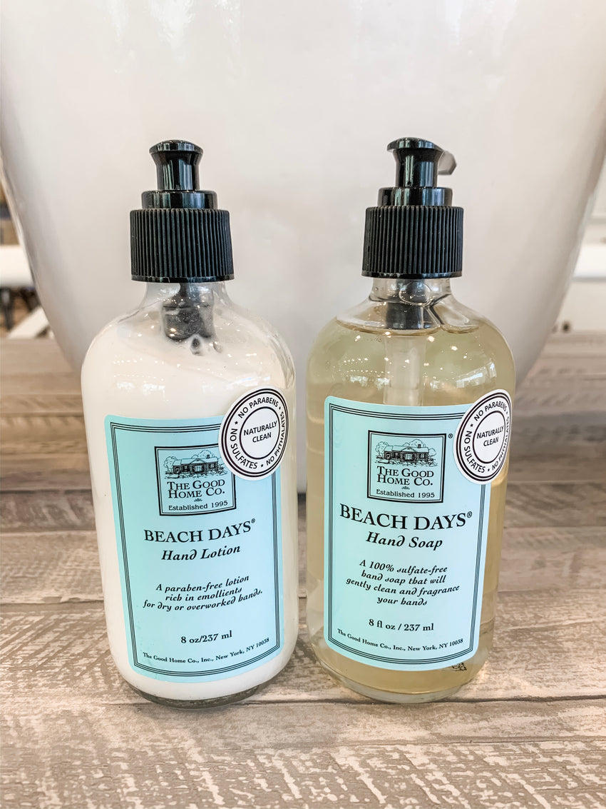 Hand Soap and Lotion Set Beach Days