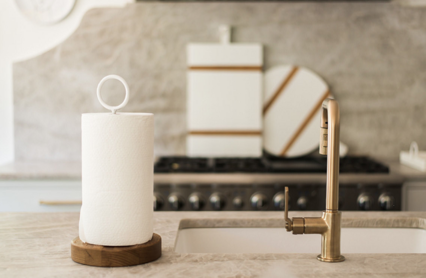 BIA White Paper Towel Holder