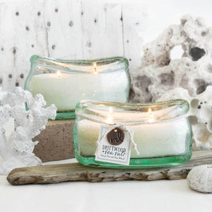 Candle Glass Boat - 2 Scents Available