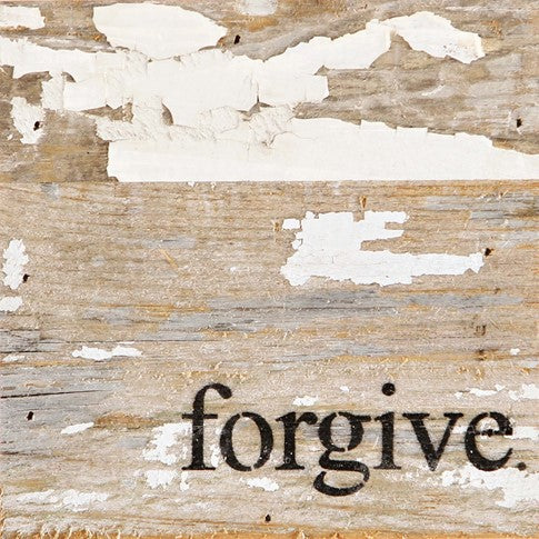 "Word Board ""Forgive"" 6x6"""