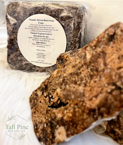 Raw Oraganic African Black Soap