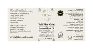 Tall Pine Gold Botanical Face Oil
