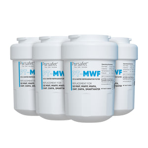 Pursafet GE MWF SmartWater MWFP GWF Comparable Refrigerator Water Filter