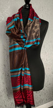 Load image into Gallery viewer, Animal print pashmina scarf