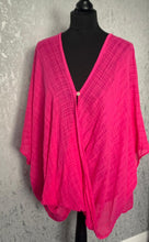 Load image into Gallery viewer, Bright pink loose over shirt