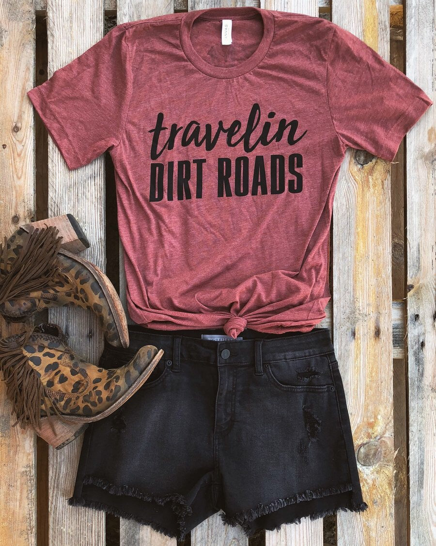 Travelin Dirt Roads Tee