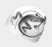 Load image into Gallery viewer, Iguana Beanie White