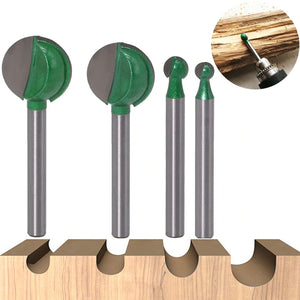 Premium Ball End Router Bit™