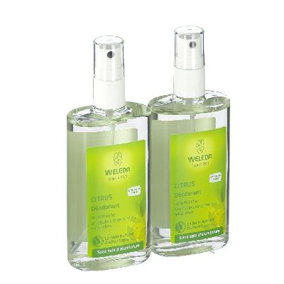Duo Deodorant Citrus 2x100 Ml Weleda