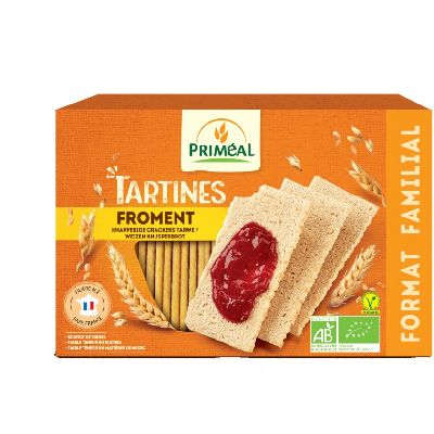 Tartines Craquantes Froment 250 G Primeal