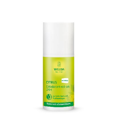 Deodorant Roll On 24 H Citrus  Weleda.