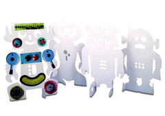 Image of Roylco R10215 Stand-Up Robots showing all four designs