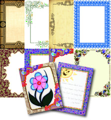 Borders Craft Paper