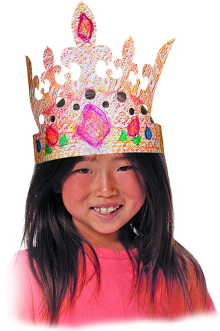 Color-In Crowns