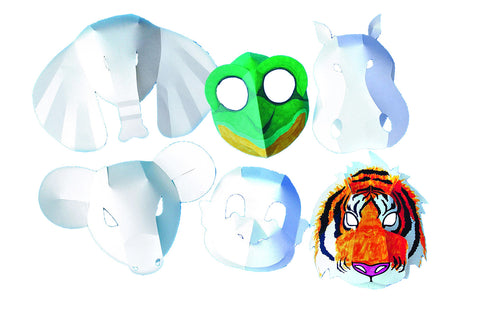 Wild Animal Fold-Up Masks