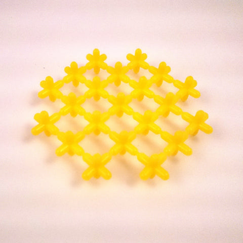 Waffle Connectors - Yellow