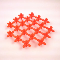 Waffle Connectors - Orange