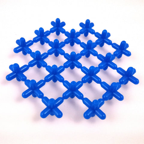 Waffle Connectors - Blue
