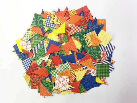 Image of Roylco R15665 Quilt Blocks pile of quilt pieces