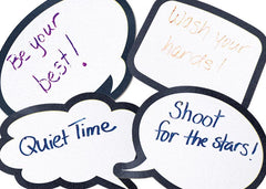 Laminated Speech Bubbles