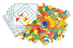 Image of Roylco R15665 Quilt Blocks components
