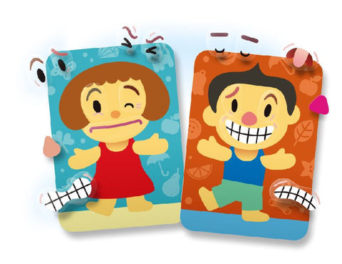 Image of Roylco R33251 Peeling Feelings boy and girl designs with emotion stickers