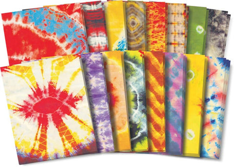 Tye Dye Craft Paper