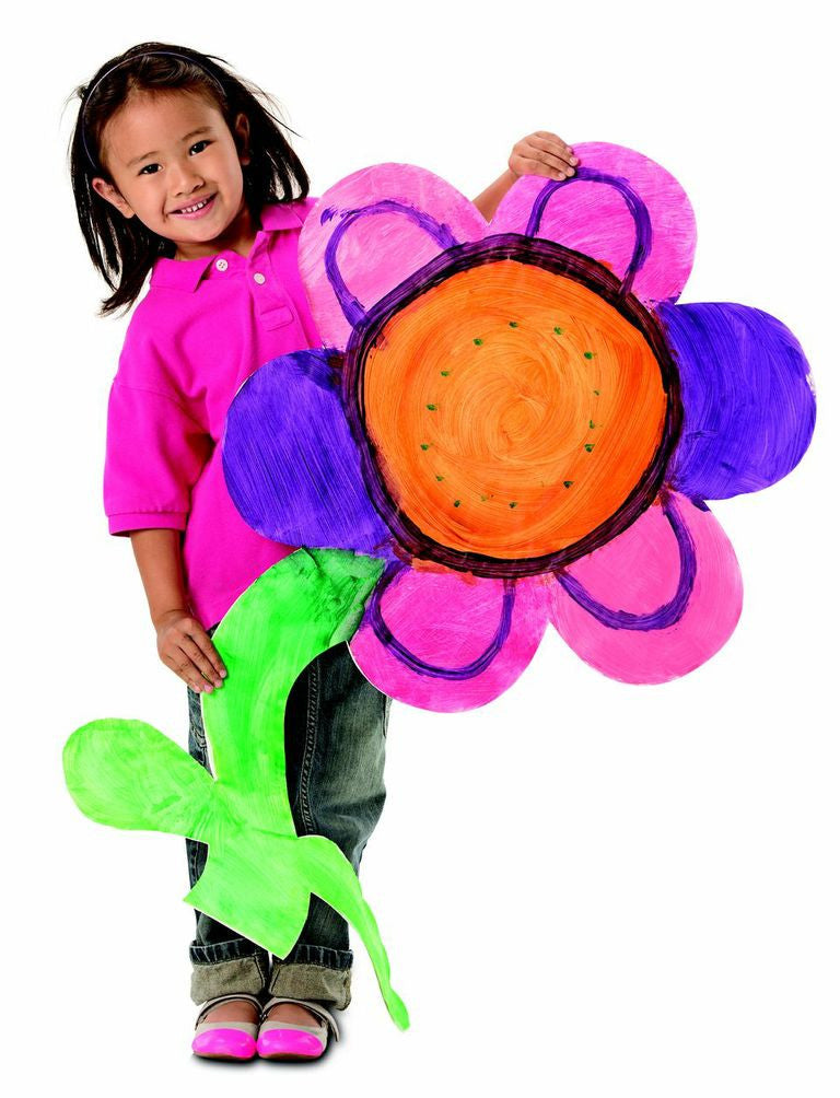Big! Huge! Fingerpaint Flowers