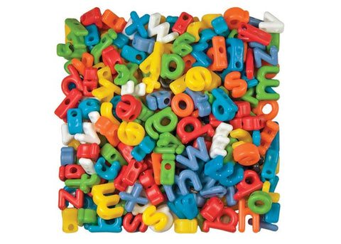 Lowercase Letter Beads