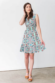 Cotton Blend Rebecca Dress